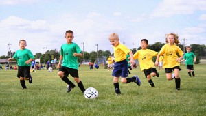 kids playing soccer How to Help Kids Lose Weight
