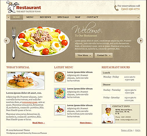 Guest Post: 10 Reasons Why Restaurant Websites Suck